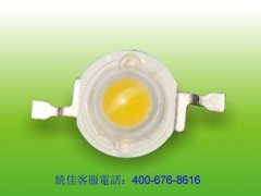 High power 1 WLED lamp bead